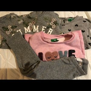 Sweatshirts bundle, 18-24 months